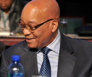 Jacob Zuma and South African Local Government Association Chairman Cllr Thabo Mnyoni.jpg