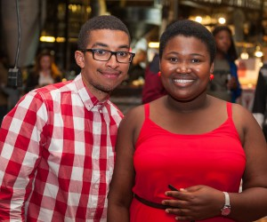 Joseph Maisels and Zikhona Ngumbela _TSiBA Mandela Rhodes Scholars 2015.jpg