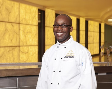 Ayanda Khumalo is the Executive Chef at Arque Champagne Crescent
