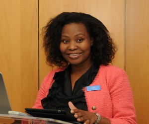 Gugu Mjadu at the launch of the Business Partners Ltd Education Fund for SMEs.jpg